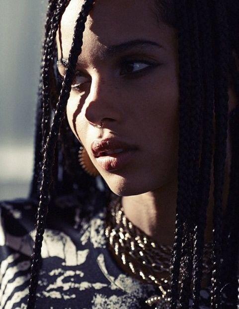 Zoë Kravitz (Born: Zoë Isabella Kravitz - December 1, 1988 - Venice, Los Angeles, CA, USA); daughter of Lisa Bonet & Lenny Kravitz