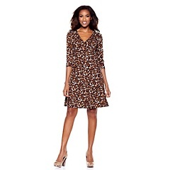 Leopard dress-HSN clearance!