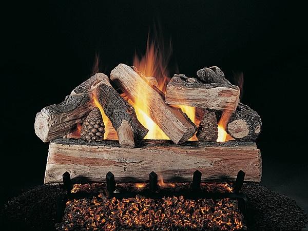 Rasmussen Crossfire Vented Gas Logs