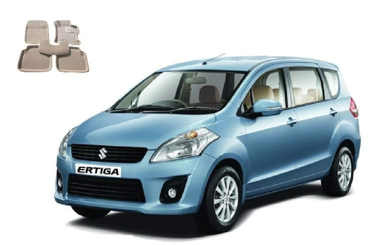 motorTREAT - 3D Beige Car Floor Mats Foot Mats - Ertiga - These foot mats have a 3-Dimension Design. They are 100% Waterproof and they protect your car from dust, dirt, oil, mud, snow, etc. The driver's mats is provided with an extra anti-slip pad. The mats are non-toxic, odorless and environment friendly. Because of their 3D design they perfectly fit in your car floor. This Mat fits perfectly in Ertiga. Please Note: This Is A Computer Generated Image And Actual Product Can Differ In…