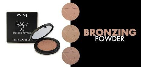 BRONZING POWDER Terra compatta effetto abbronzante. Shop online http://www.minyshop.com/it/106-abbronzante  #makeup #maquillaje #miny #minycosmetics #cosmetics #beauty #bronzing #powder #fashion #glam