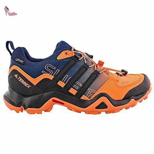 adidas  Terrex Swift R Gtx, chaussures de randonnée homme - - Orange facile/noir/bleu mystère, 9 B(M) US EU - Chaussures adidas (*Partner-Link)