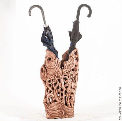 """Вазы ручной работы. Ярмарка Мастеров - ручная работа. Купить Ваза деревянная """"Чёрный Вождь племени. Мексика"""". Handmade. Черный"""
