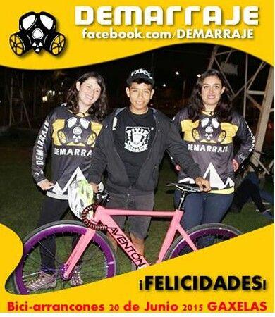 Demarraje en BiciArrancones Equipo Demarrajas #Demarraje #PisaPedalyDemarraje #ActitudDemarraje #BiciArrancones #Gaxelas #EquipoDemarraje www.facebook.com/Demarraje #ActitudCiclista #Bicicleta #Bici #Ciclistas #fixie #fixied #piñonfijo #singleSpeed #LasDemarrajas #demarrajas