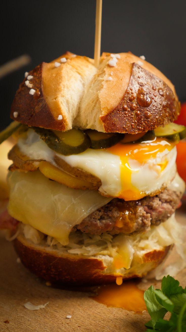 Loaded Breakfast Burger