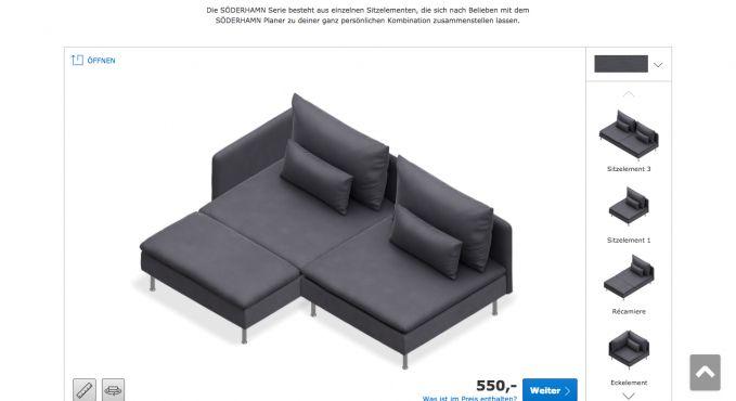 73 Einzigartig Fotos Von Couch Konfigurator
