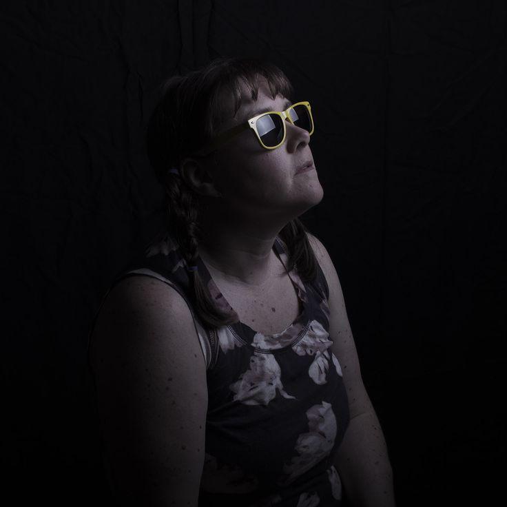 Yellow Sunglasses by Lisa Adams Photography