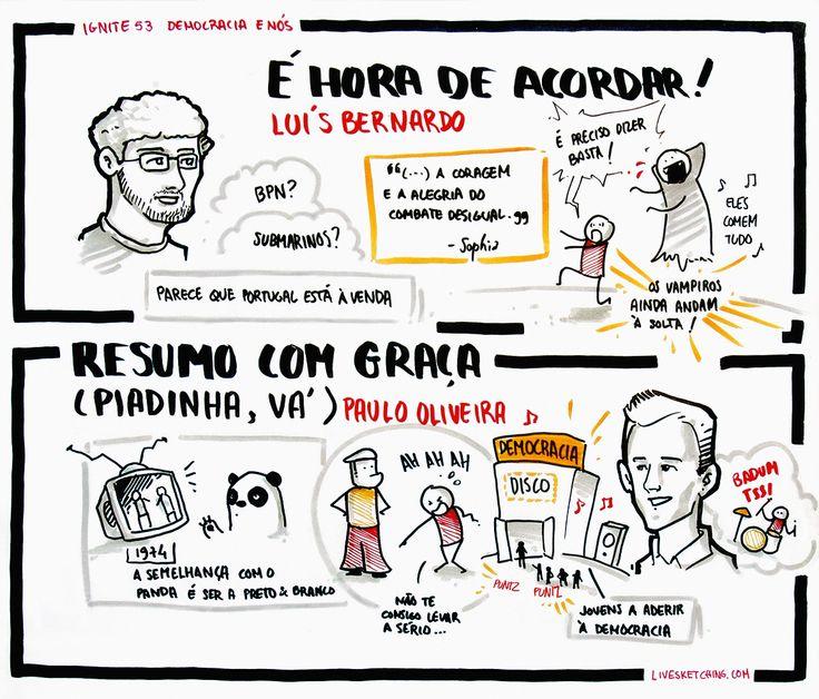 """Luís Bernando - """"É hora de acordar!""""; Paulo Oliveira - Resumo com graça (piadinha, vá)"""