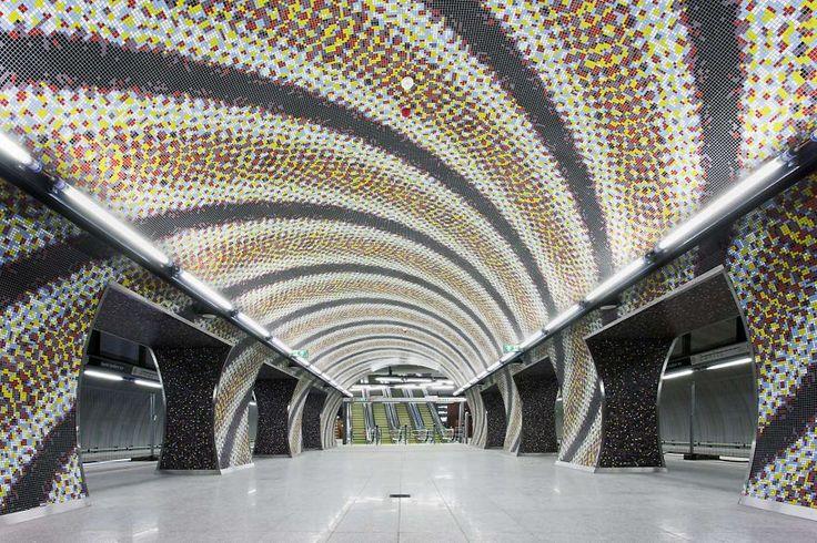 Estaciones maravillosas de #Metro del mundo: Estación Szent Gellért Square, Budapest, Hungría