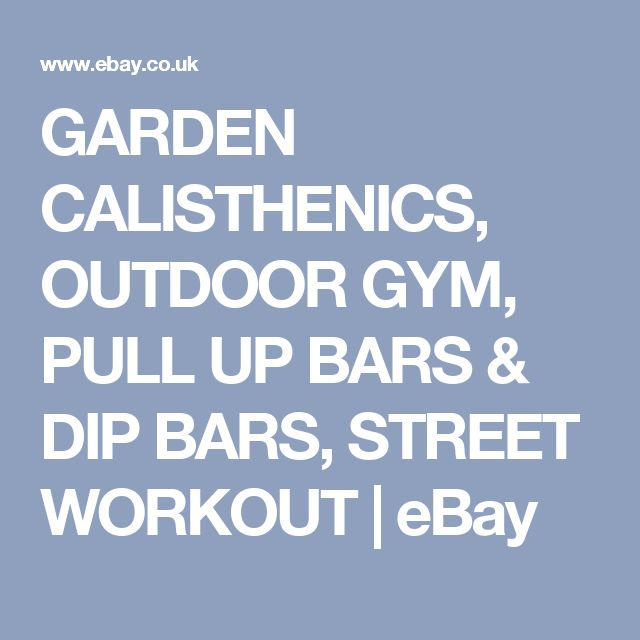 1000 Ideas About Outdoor Pull Up Bar On Pinterest Pull