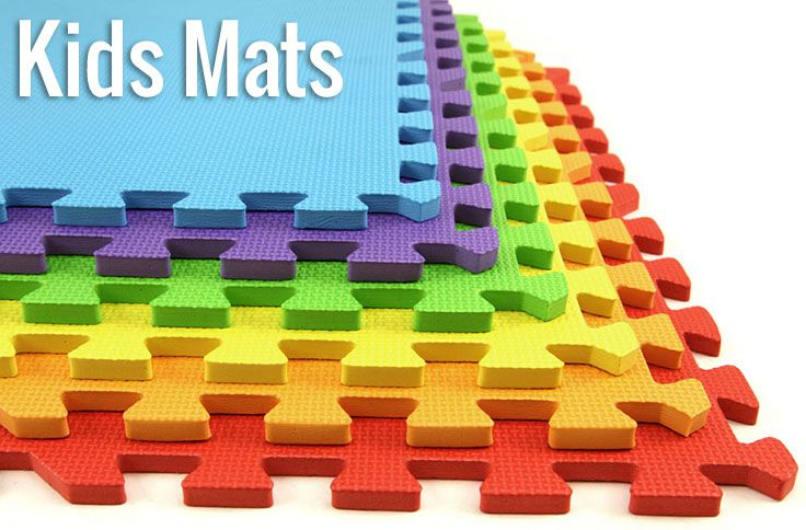 So Many Fun And Colorful Options For Kids Playroom Mats