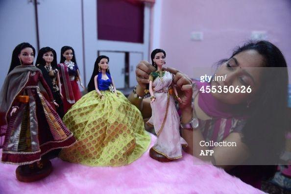 News Photo : Indian fashion designer Hima Sailaja Theerdhala...