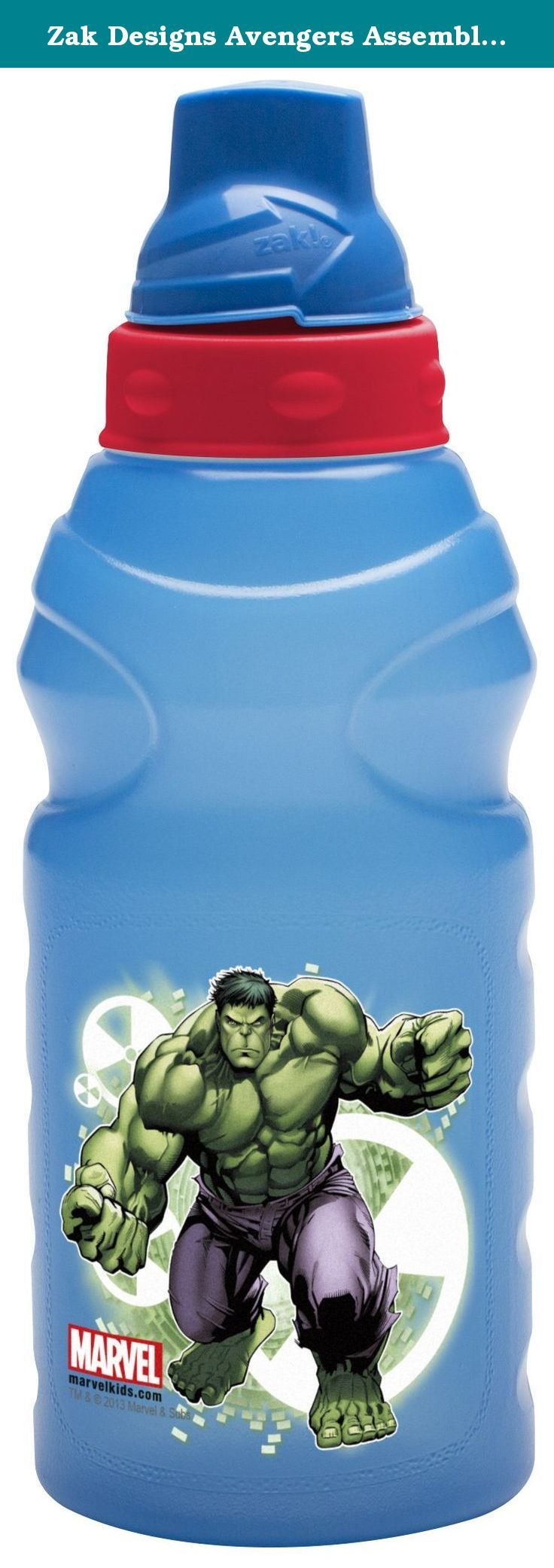 Zak Designs Avengers Assemble ChillPak HydroCanteen Bottle, 16-Ounce. The Zak Designs Avengers Assemble HydroCanteen with ChillPak Cold Hold Technology Keeps Drinks Cool for Hours. Patent pending leak-proof Liquid Lock lid prevents spills. Twist lid to open and close. ChillPak keeps your drink cool. 100% reusable. 16-ounce capacity perfect for your favorite beverage. By Zak Designs, a company that offers a wide variety of high quality dinnerware, travel ware and products at the forefront…