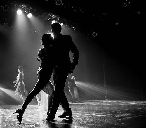 "Show en Teatro Diego Rivera. 10 Enero, 2014. ""Tango Obsesión"", Puerto Montt, Chile."