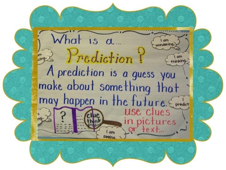 predictions   Kindergarten Lifestyle: Making Predictions