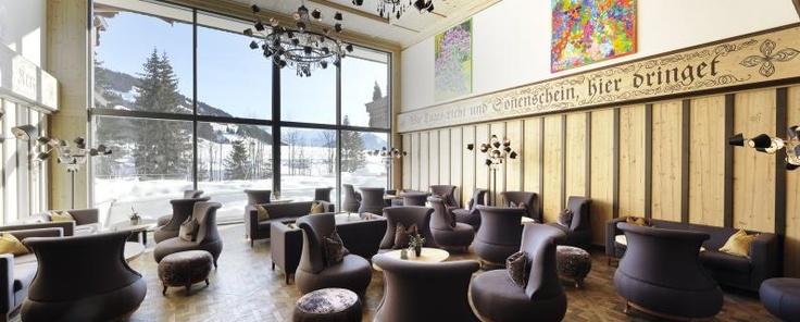 Panorama-Halle im Wellness- & Spa-Hotel Ermitage, Schönried
