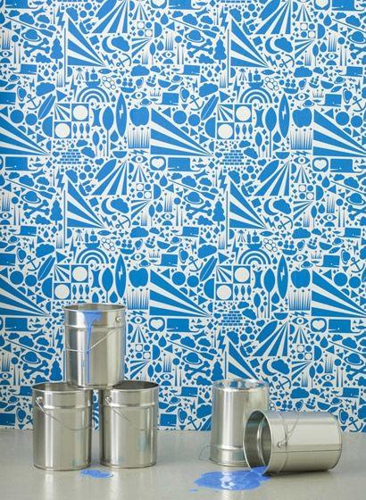 64 best Ferm Living Tapeten images on Pinterest Living room - tapeten für die küche