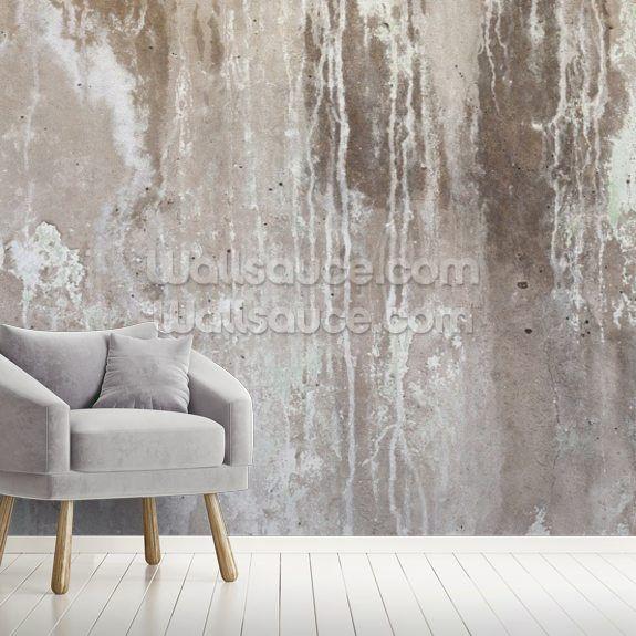 Grey Texture Of Concrete Wallpaper Wallsauce Us In 2020 Concrete Wallpaper Brick Wall Wallpaper Wall Murals Bedroom