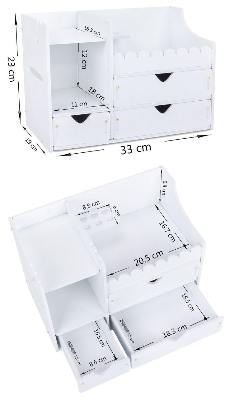 Pvc plástico requintado cosméticos organizador caixa clara de cuidados da pele de armazenamento titular multifunções caixa de maquiagem com espelho em Ciaxas de armazenamento & lixo de Casa & jardim no AliExpress.com | Alibaba Group