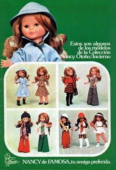 Publicidad Muñeca Nancy :)