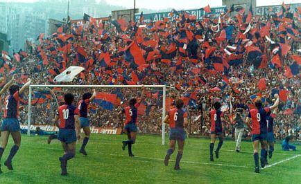 Genoa cfc 1893 - (old) gradinata Nord (1973)