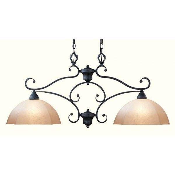 image detail for wrought iron pendant lighting kitchen. Black Bedroom Furniture Sets. Home Design Ideas