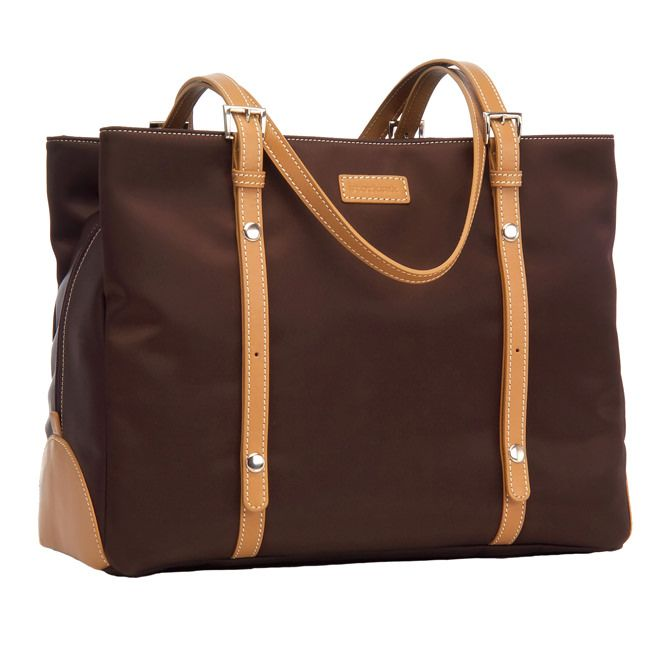 Storksak Gigi Shoulder Diaper Bag - Chocolate | Maternity Clothes  www.duematernity.com Follow Due Maternity on Instagram www.instagram.com... BEST selection of Maternity clothes anywhere!