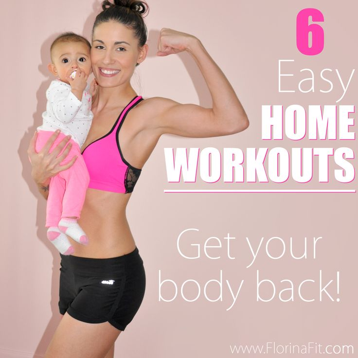 Post Pregnancy fitness routine. Get your body back. Home Workouts | Fit Mom