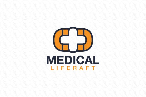 Medical Liferaft - $299 (negotiable) http://www.stronglogos.com/product/medical-liferaft #logo #design #sale #medical #first #aid #supplies #ambulance #pharmacy #blog