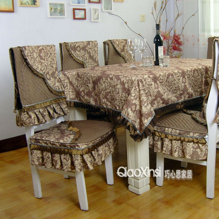 Fashion ! table cloth dining table cloth dining table chair cover cushion plus cotton quilting gorgeous pure cloth $144.90