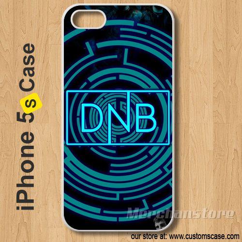 Custom iPhone 5S Case Cover Pendulum Drum and Bass Arena DnB Logo #Pendulum  #iphone5 #iphone5s #case #cover