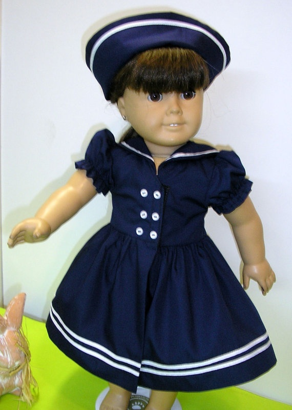 173 Best Images About Patriotic Amp Nautical Doll Clothes On