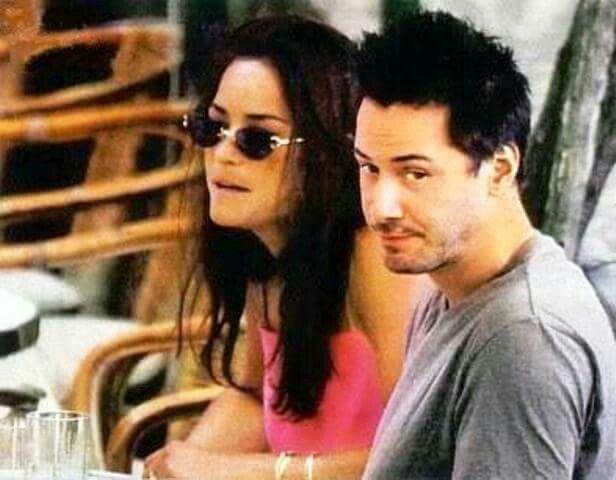 Keanu and his sister Kim
