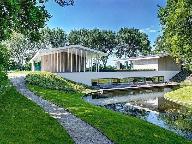 ✨House L by Grosfeld van der Velde Architecten Location: #Oosterhout, Gelderland, #Netherlands
