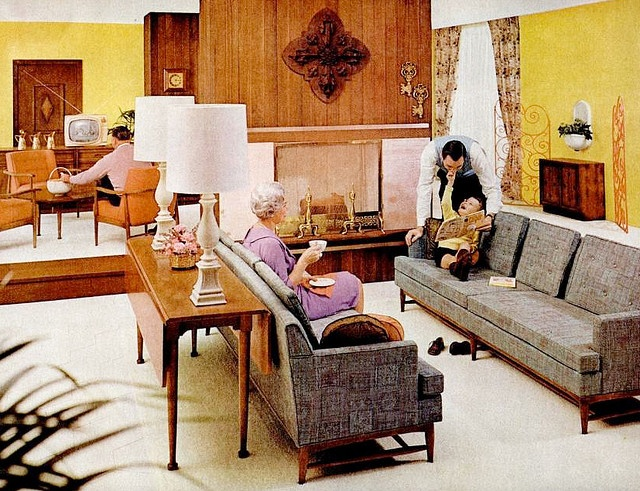 50 Best Images About 1960s Living Room On Pinterest