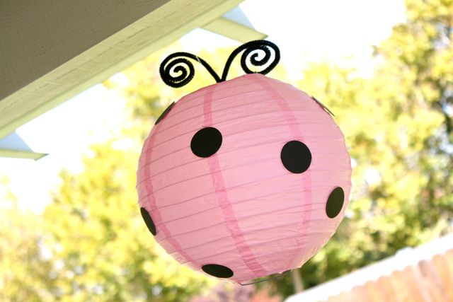 Pink & Red Ladybugs Birthday Party Ideas | Photo 1 of 17 | Catch My Party
