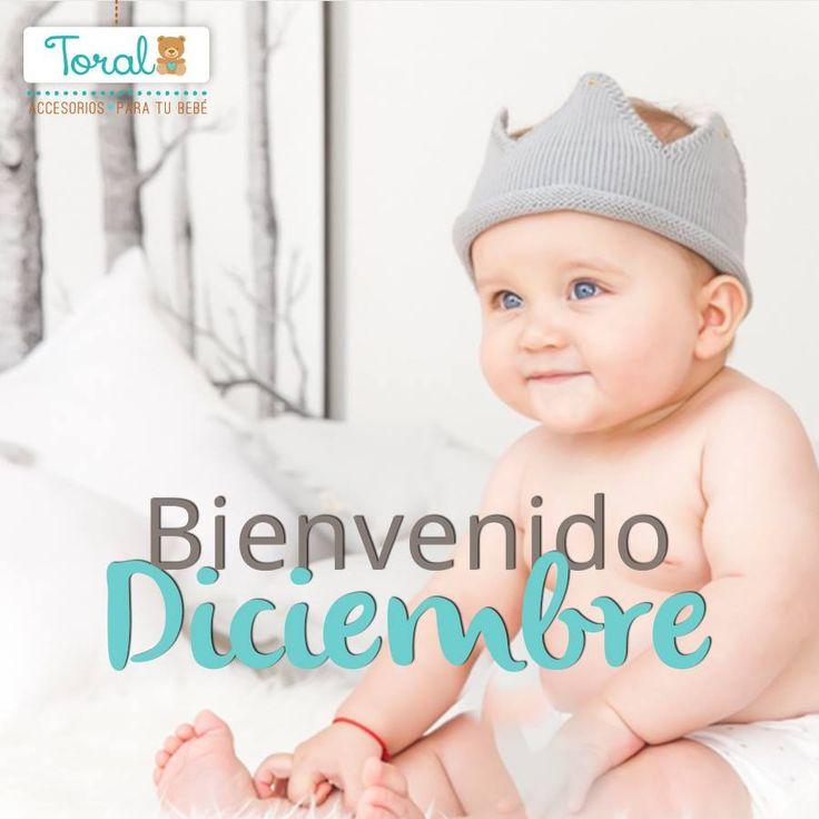 Le damos la bienvenida a Diciembre, un mes lleno de amor y esperanza. Toral ¡Le damos la bienvenida a la vida!