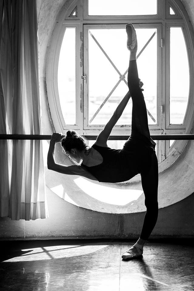 Repetto Inspirations - Dorothée Gilbert, Prima Ballerina, training in the Zambelli's room inside the Opéra Garnier.
