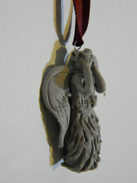 Weeping Angel Ornaments on Etsy