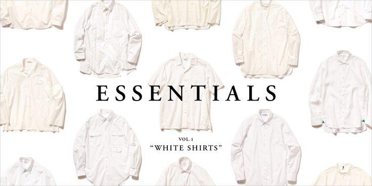 "ESSENTIALS Vol.1 ""WHITE SHIRTS"""