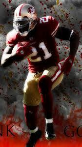 Frank Gore...He's my favorite 49ers player:D