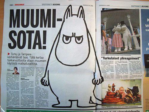 Moomin War!   Flickr - Photo Sharing!