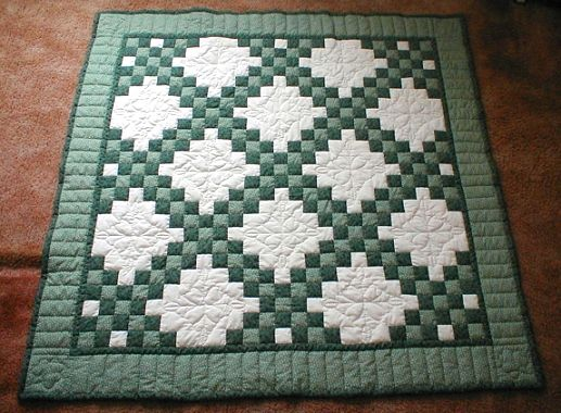 irish chain quilt with 3 colors   ... quilting areas in this one happy quilting all marcia o page 1 page 2