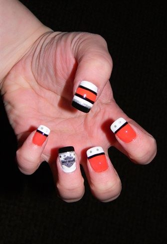 Harley Davidson Nails