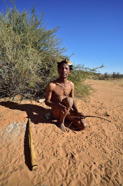 Kalahari Khomani San Bushman, Boesmansrus camp, Northern Cape, South Africa | by South African Tourism
