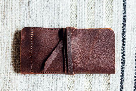 the hustler wrap wallet with phone sleeve // by HUSTLEANDHIDE
