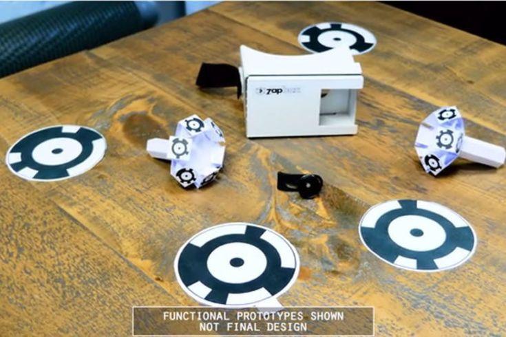 ZapBox casque realite augmentee cardboard
