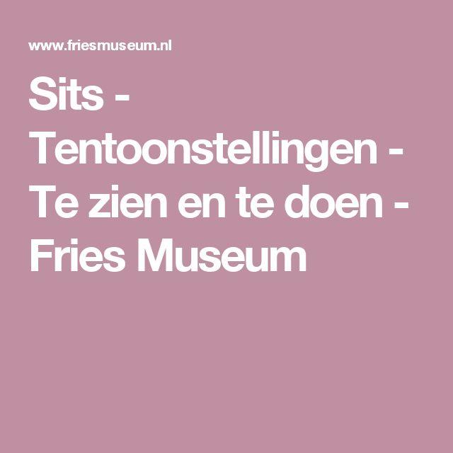 Sits - Tentoonstellingen - Te zien en te doen - Fries Museum