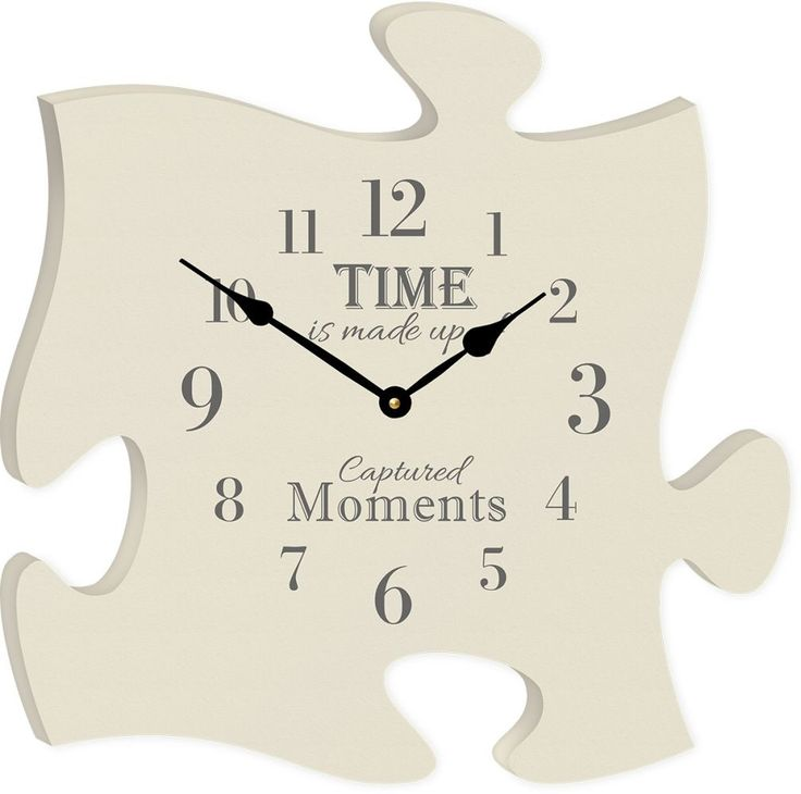 The Time Clock Puzzle Piece