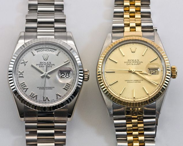 luxury Rolex Presidential watch watches for men gold silver 2015